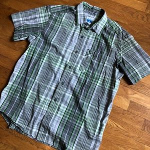 Columbia Omni-Wick Button Down Shirt